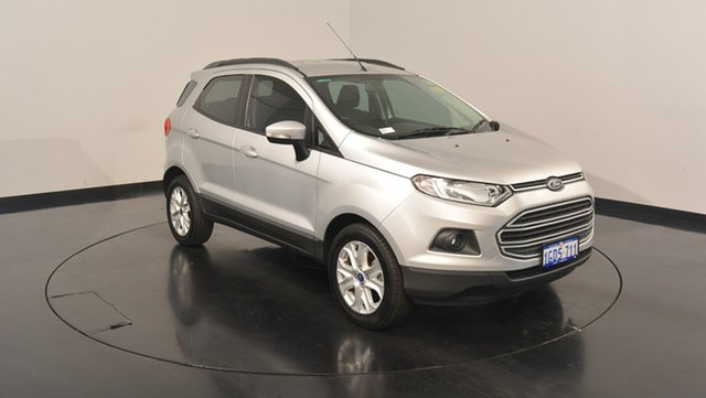 Used Ford Ecosport BK Trend PwrShift, 2016 Ford Ecosport BK Trend PwrShift Moondust Silver 6 Speed Sports Automatic Dual Clutch Wagon