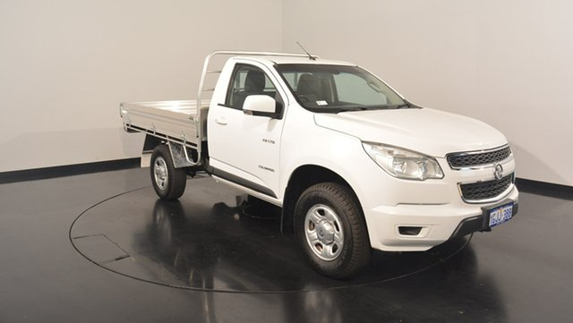 Used Holden Colorado RG MY14 LX, 2014 Holden Colorado RG MY14 LX White 6 Speed Sports Automatic Cab Chassis
