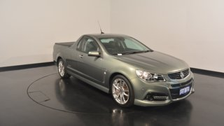2014 Holden Ute VF MY14 SS V Ute Redline Grey 6 Speed Manual Utility
