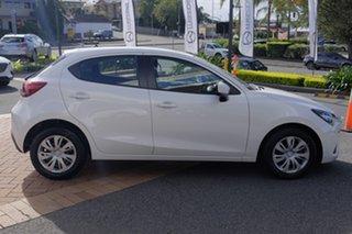 2018 Mazda 2 DJ2HA6 Neo SKYACTIV-MT Snowflake White 6 Speed Manual Hatchback.