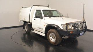 2006 Nissan Patrol GU II DX White 5 Speed Manual Cab Chassis.