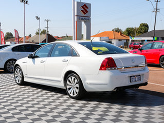 2011 Holden Caprice WM II V White 6 Speed Sports Automatic Sedan