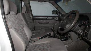 2006 Nissan Patrol GU II DX White 5 Speed Manual Cab Chassis