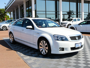 2011 Holden Caprice WM II V White 6 Speed Sports Automatic Sedan.