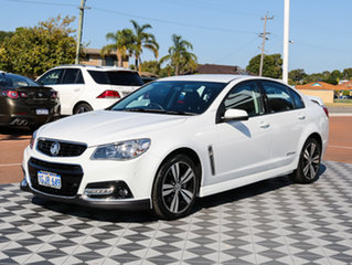 2014 Holden Commodore VF MY14 SS Storm White 6 Speed Sports Automatic Sedan.