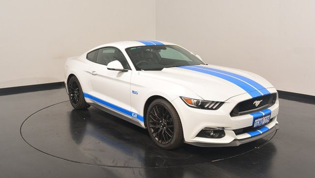 Used Ford Mustang FM MY17 GT Fastback, 2017 Ford Mustang FM MY17 GT Fastback White 6 Speed Manual Fastback