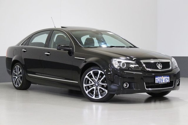 Used Holden Caprice WN MY16 V, 2016 Holden Caprice WN MY16 V Black 6 Speed Auto Active Sequential Sedan