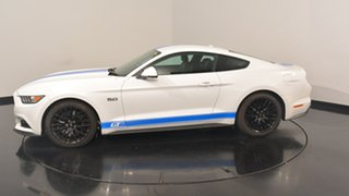 2017 Ford Mustang FM MY17 GT Fastback White 6 Speed Manual Fastback.