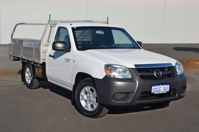 Used Mazda BT-50 UNY0W4 DX, 2010 Mazda BT-50 UNY0W4 DX White 5 Speed Manual Cab Chassis