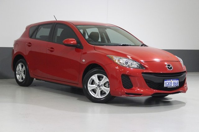 Used Mazda 3 BL MY13 Neo, 2013 Mazda 3 BL MY13 Neo Red 5 Speed Automatic Hatchback