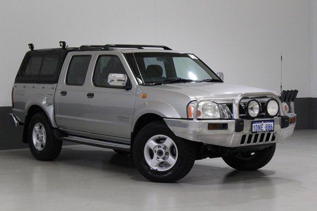 Used Nissan Navara D22 ST-R (4x4), 2006 Nissan Navara D22 ST-R (4x4) Silver 5 Speed Manual Dual Cab Pick-up