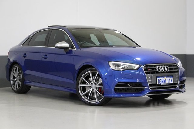 Used Audi S3 8V MY16 2.0 TFSI Quattro, 2016 Audi S3 8V MY16 2.0 TFSI Quattro Sprint Blue 6 Speed Direct Shift Sedan