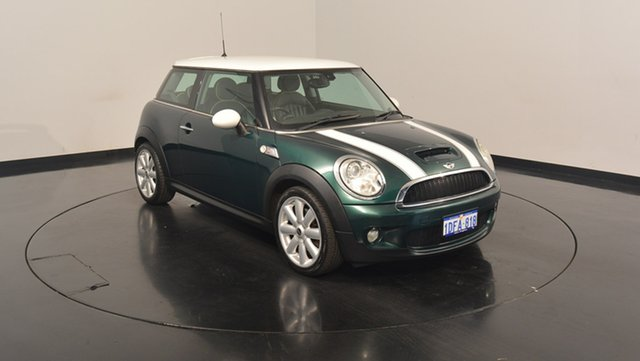 Used Mini Hatch R53 MY05 Cooper S, 2007 Mini Hatch R53 MY05 Cooper S Green 6 Speed Manual Hatchback