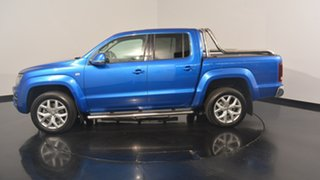 2016 Volkswagen Amarok 2H MY17 TDI550 4MOTION Perm Ultimate Ravenna Blue 8 Speed Automatic Utility.