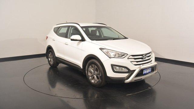 Used Hyundai Santa Fe DM2 MY15 Active, 2015 Hyundai Santa Fe DM2 MY15 Active White 6 Speed Sports Automatic Wagon