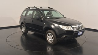 2010 Subaru Forester S3 MY10 X AWD Black 5 Speed Manual Wagon
