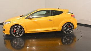 2010 Renault Megane III D95 R.S. 250 Cup Trophee Yellow 6 Speed Manual Coupe.
