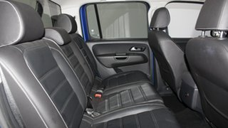 2016 Volkswagen Amarok 2H MY17 TDI550 4MOTION Perm Ultimate Ravenna Blue 8 Speed Automatic Utility