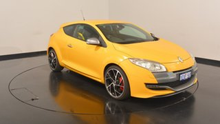 2010 Renault Megane III D95 R.S. 250 Cup Trophee Yellow 6 Speed Manual Coupe