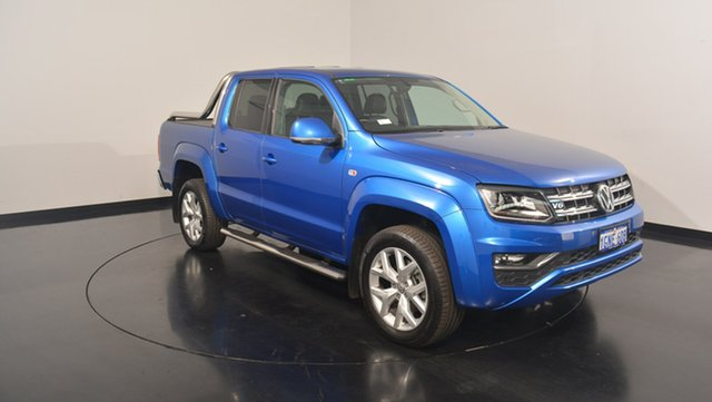 Used Volkswagen Amarok 2H MY17 TDI550 4MOTION Perm Ultimate, 2016 Volkswagen Amarok 2H MY17 TDI550 4MOTION Perm Ultimate Ravenna Blue 8 Speed Automatic Utility
