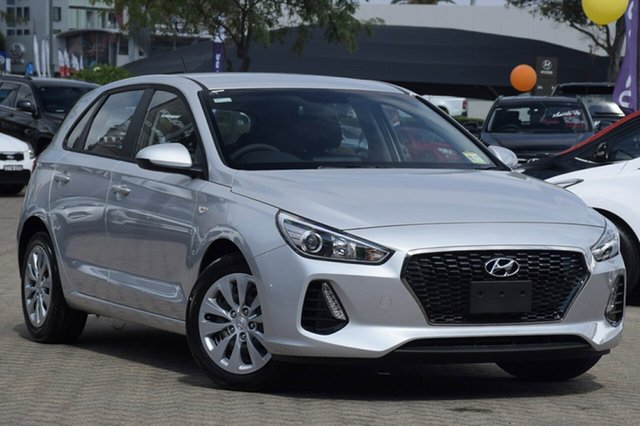 New Hyundai i30 PD MY19 Go, 2019 Hyundai i30 PD MY19 Go Platinum Silver 6 Speed Sports Automatic Hatchback