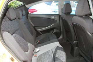 2017 Hyundai Accent RB6 MY18 Sport Sunflower 6 Speed Manual Sedan.