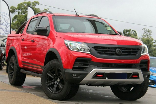 New Holden Special Vehicles Colorado RG MY18 SportsCat Lookpack (4x4), 2019 Holden Special Vehicles Colorado RG MY18 SportsCat Lookpack (4x4) Absolute Red 6 Speed
