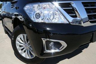 2019 Nissan Patrol Y62 Series 4 MY18 TI-L (4x4) Black 7 Speed Automatic Wagon.