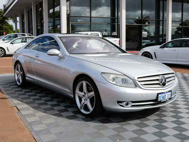 Used Mercedes-Benz CL500 C216 , 2007 Mercedes-Benz CL500 C216 Silver 7 Speed Sports Automatic Coupe