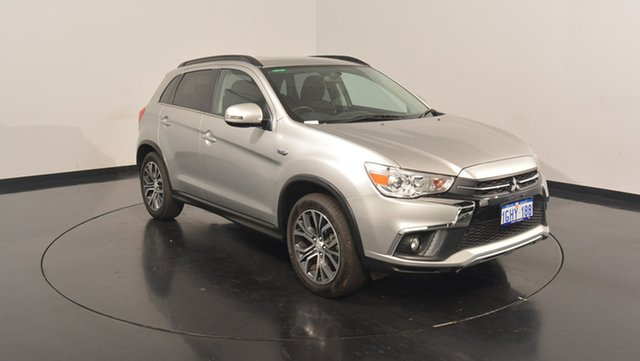 Used Mitsubishi ASX XC MY18 LS 2WD, 2017 Mitsubishi ASX XC MY18 LS 2WD Sterling Silver 6 Speed Constant Variable Wagon