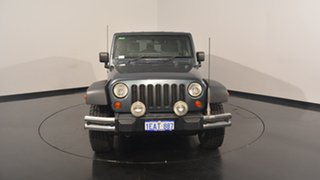 2008 Jeep Wrangler JK Unlimited Sport Grey 4 Speed Automatic Softtop