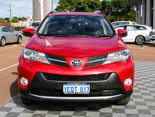 2013 Toyota RAV4 ASA44R Cruiser AWD Red 6 Speed Sports Automatic Wagon.