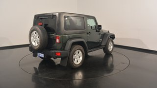 2012 Jeep Wrangler JK MY2012 Sport Green 6 Speed Manual Softtop