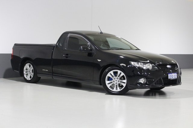 Used Ford Falcon FG Upgrade XR6 Limited Edition, 2011 Ford Falcon FG Upgrade XR6 Limited Edition Silhouette 6 Speed Auto Seq Sportshift Utility