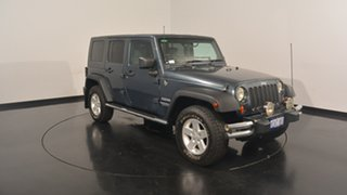 2008 Jeep Wrangler JK Unlimited Sport Grey 4 Speed Automatic Softtop.