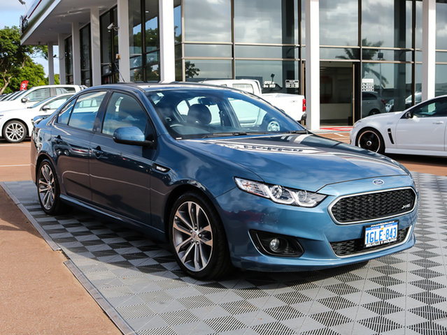 Used Ford Falcon FG X XR6, 2016 Ford Falcon FG X XR6 Blue 6 Speed Sports Automatic Sedan