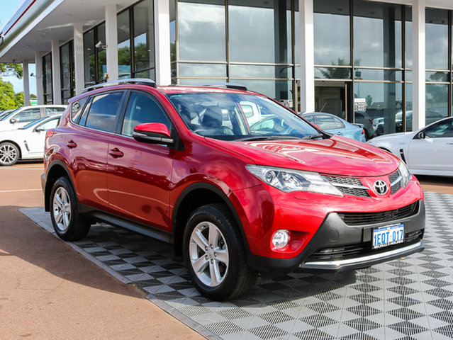 Used Toyota RAV4 ASA44R Cruiser AWD, 2013 Toyota RAV4 ASA44R Cruiser AWD Red 6 Speed Sports Automatic Wagon