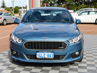 2016 Ford Falcon FG X XR6 Blue 6 Speed Sports Automatic Sedan.