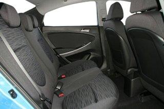 2017 Hyundai Accent RB6 MY18 Sport Blue Lagoon 6 Speed Manual Sedan