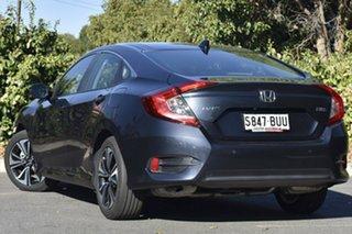 2017 Honda Civic 10th Gen MY17 VTi-L Cosmic Blue 1 Speed Constant Variable Sedan.