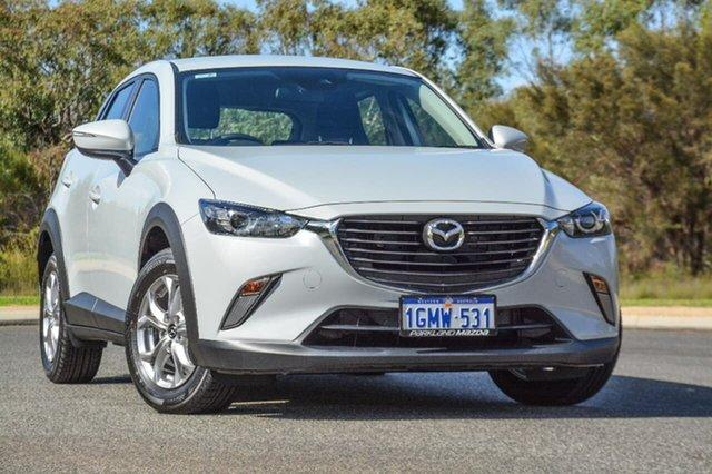 Demo Mazda CX-3 DK4W7A Maxx SKYACTIV-Drive i-ACTIV AWD, 2017 Mazda CX-3 DK4W7A Maxx SKYACTIV-Drive i-ACTIV AWD White 6 Speed Sports Automatic Wagon