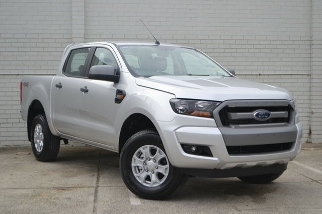 New Ford Ranger PX MkII MY18 XLS Double Cab, 2018 Ford Ranger PX MkII MY18 XLS Double Cab Ingot Silver 6 Speed Manual Utility