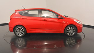 2017 Hyundai Accent RB4 MY17 SR Veloster Red 6 Speed Sports Automatic Hatchback