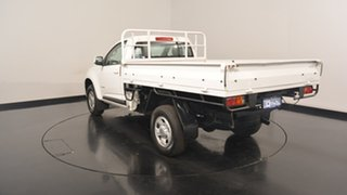2014 Holden Colorado RG MY14 LX White 6 Speed Sports Automatic Cab Chassis.