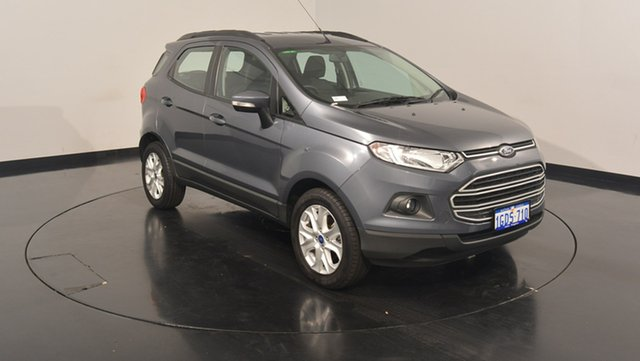 Used Ford Ecosport BK Trend PwrShift, 2016 Ford Ecosport BK Trend PwrShift Smoke 6 Speed Sports Automatic Dual Clutch Wagon