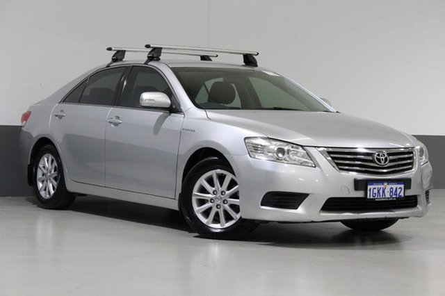 Used Toyota Aurion GSV40R 09 Upgrade AT-X, 2011 Toyota Aurion GSV40R 09 Upgrade AT-X Silver 6 Speed Auto Sequential Sedan