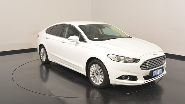 Used Ford Mondeo MD 2017.00MY Trend SelectShift, 2017 Ford Mondeo MD 2017.00MY Trend SelectShift White 6 Speed Sports Automatic Hatchback