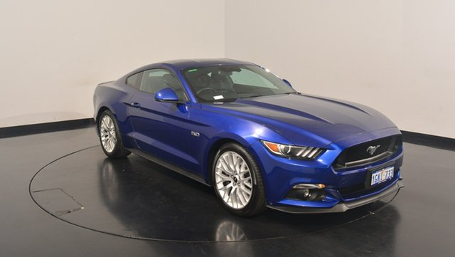 Used Ford Mustang FM GT Fastback SelectShift, 2016 Ford Mustang FM GT Fastback SelectShift Blue 6 Speed Sports Automatic Fastback