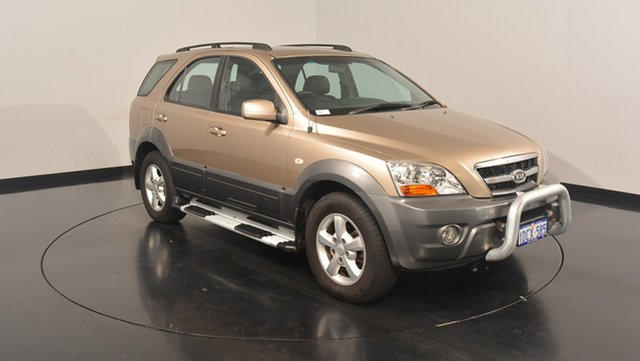 Used Kia Sorento BL MY08 EX-L, 2009 Kia Sorento BL MY08 EX-L Champagne 5 Speed Sports Automatic Wagon