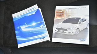 2017 Ford Mondeo MD 2017.00MY Trend SelectShift White 6 Speed Sports Automatic Hatchback